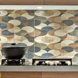 Kerwood Geo Mix/Legno Reale Amendoa